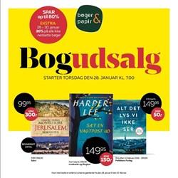 Bøger & papir: Gyldig t.o.m lør 13/2