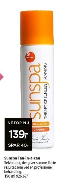 Sunspa Tan-in-a-can