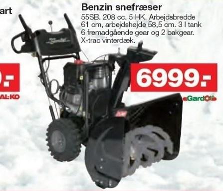 Benzin snefræser