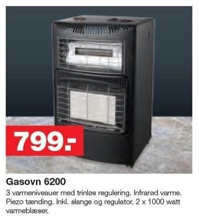 Gasovn 6200