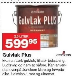 Gulvlak Plus 2,5 liter