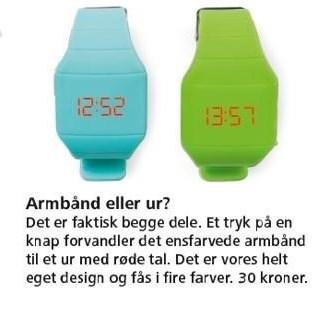 Armbånd eller ur?
