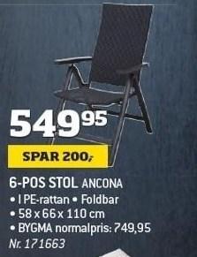 6-pos stol