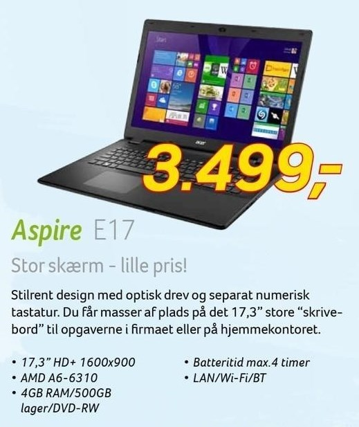 Acer Aspire 17,3
