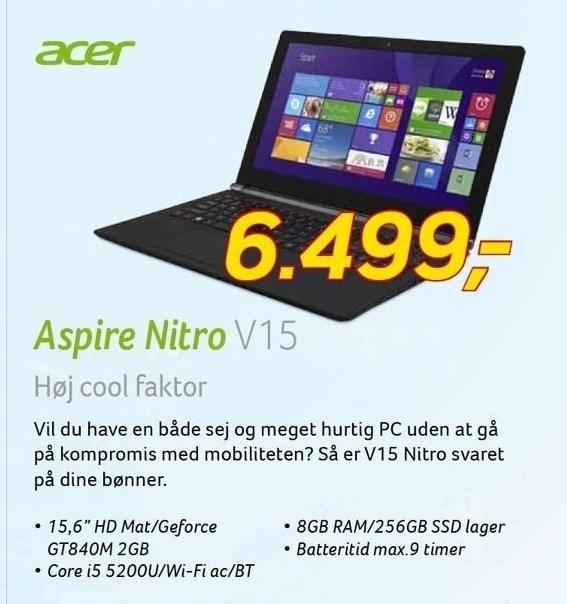 Acer Aspire Nitro 15,6