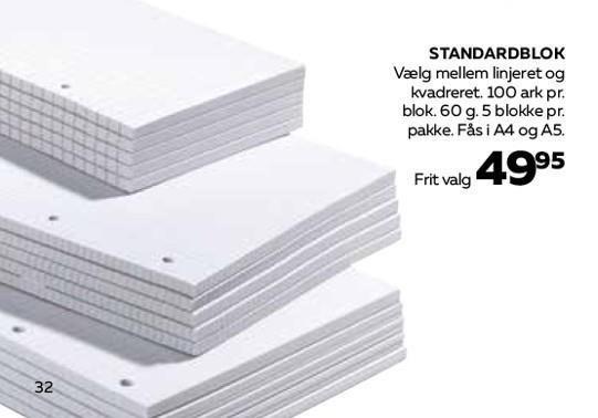 Standardblok