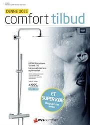 VVS Comfort: Gyldig t.o.m fre 3/7