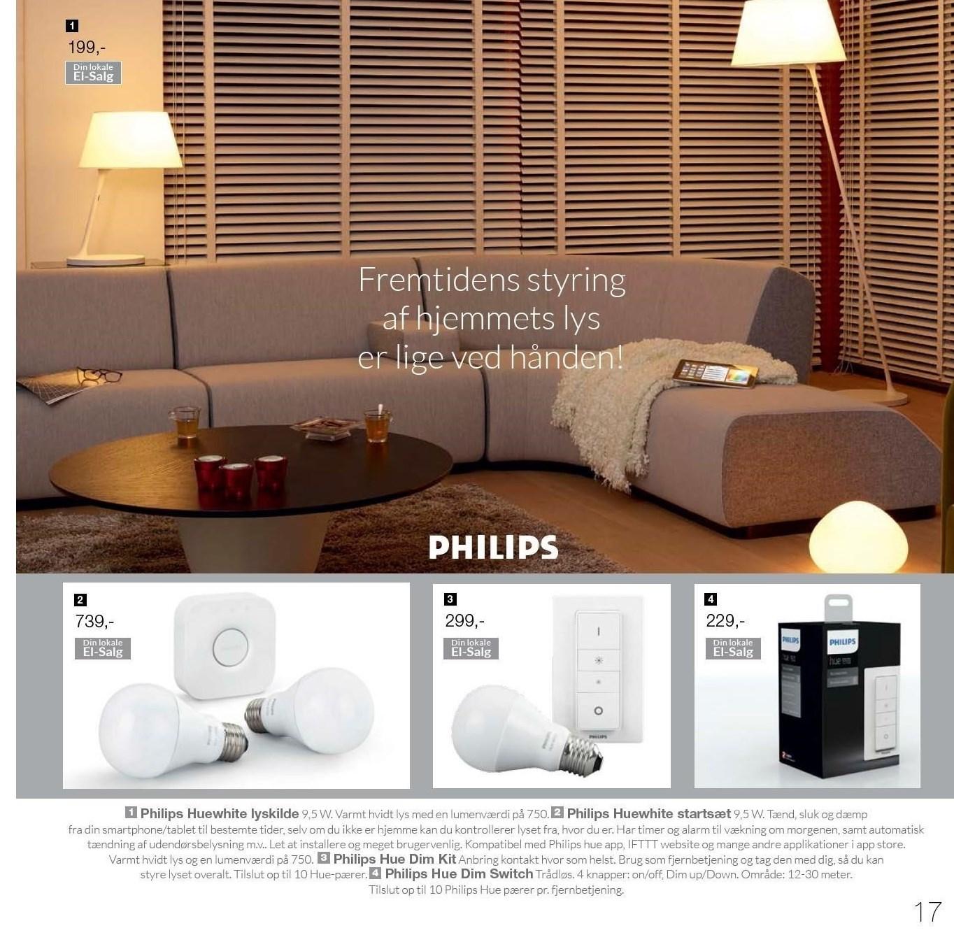 Philips Huewhite lyskilde
