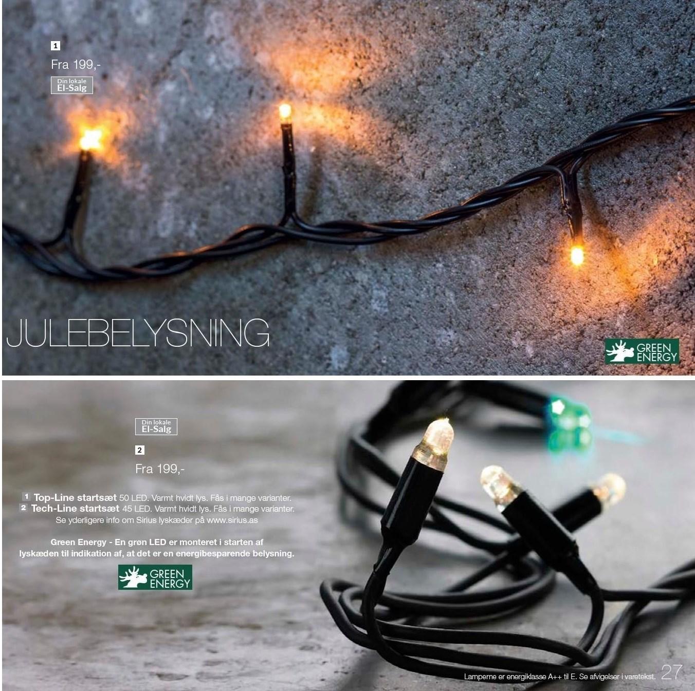 Top-Line startsæt lyskæde