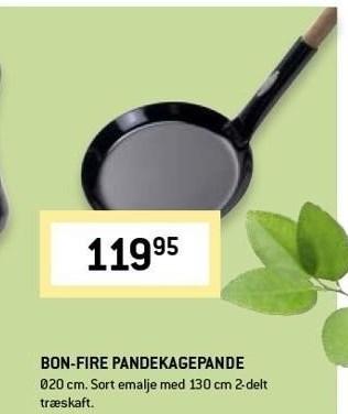 Bon-fire pandekagepande