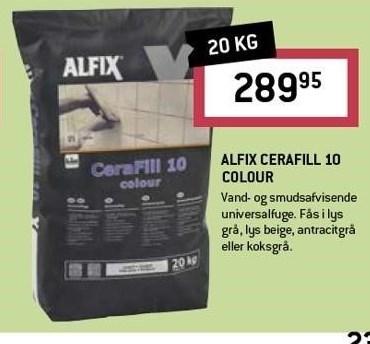 Alfix Cerafill 10 Colour