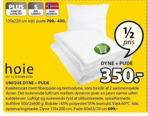 Unique dyne + pude