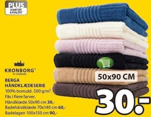 Berga håndklædeserie