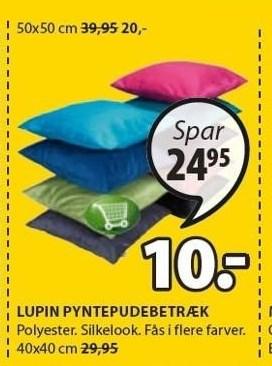 Lupin pyntepudebetræk