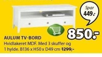 Aulum TV-bord