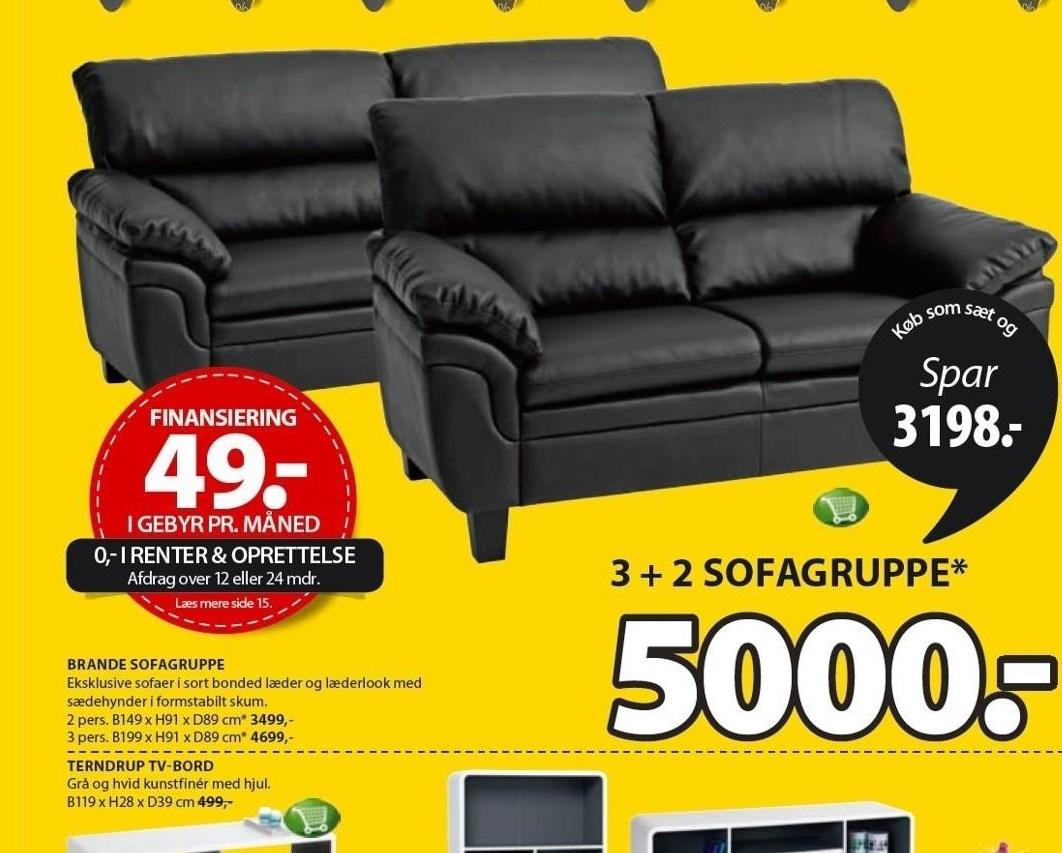 Brande sofagruppe