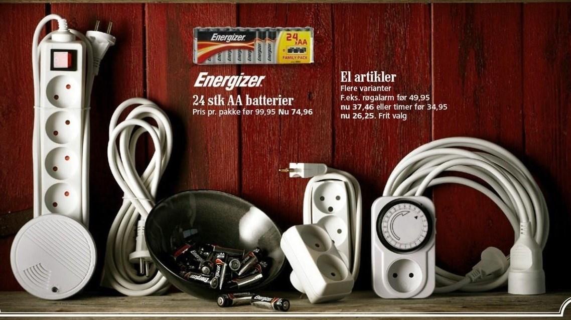 Energizer AA batterier