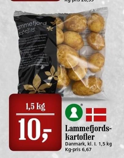 Lammefjordskartofler