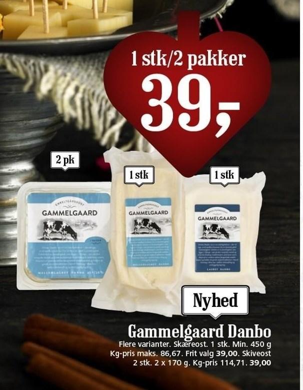Gammelgaard Danbo 1 stk./2 pakker
