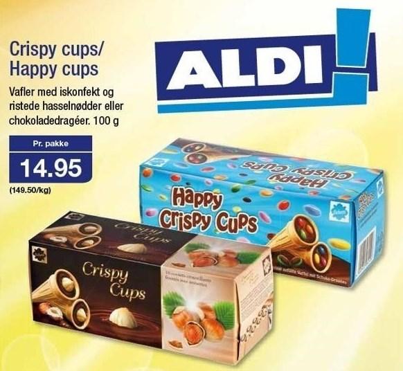 Crispy cups/ Happy cups