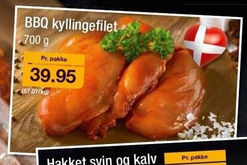 BBQ kyllingefilet