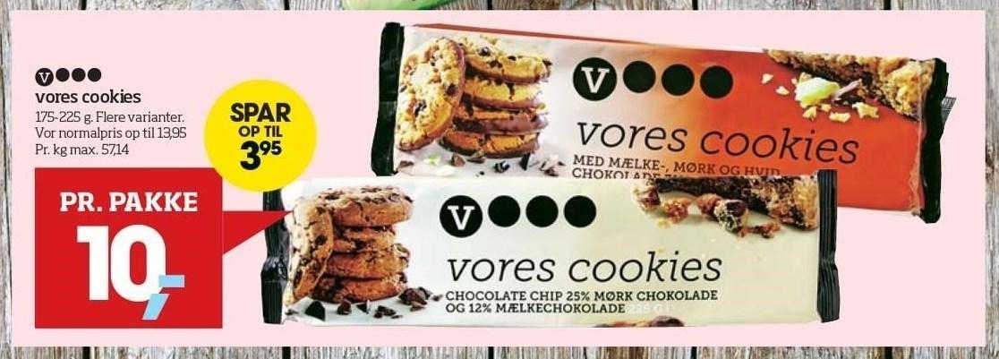 Vores cookies