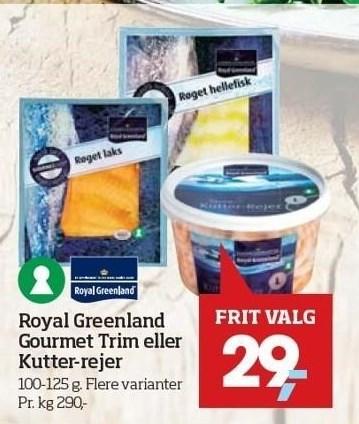 Royal Greenland Gourmet Trim eller Kutter rejer