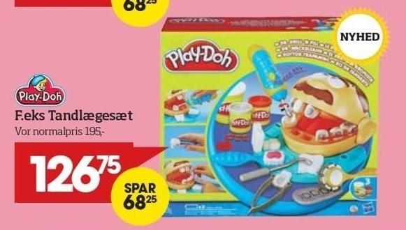 Alt Play-Doh - Tandlægesæt