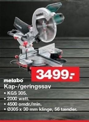 Kap-/Geringssav