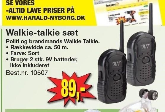 Walkie-talkie sæt