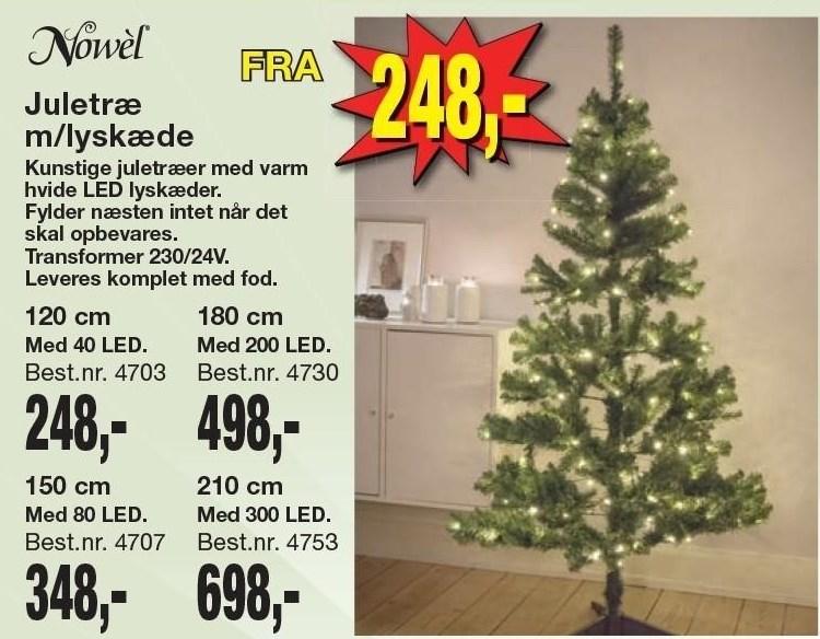 Juletræ m/lyskæde