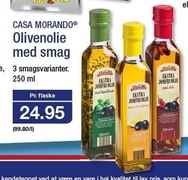 Olivenolie med Smag