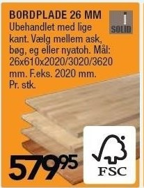 Bordpalde 26 mm