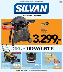 SILVAN: Gyldig t.o.m lør 8/8
