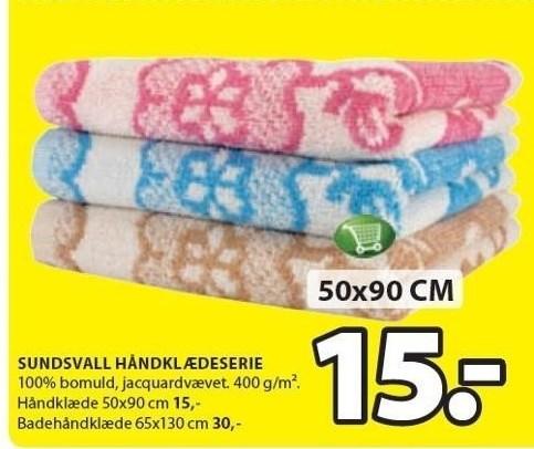 Sundsvall håndklædeserie