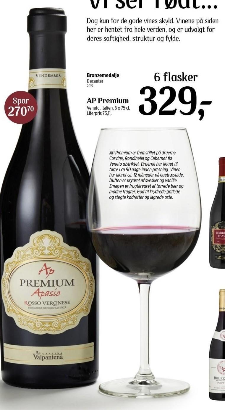 6 fl. AP Premium