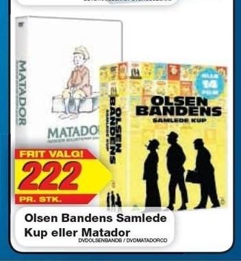 Olsen Bandens Samlede Kup eller Matador