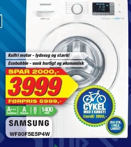 Samsung Vaskemaskine