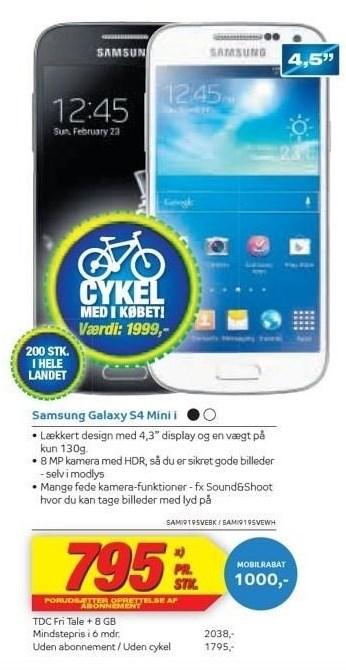 Samsung Galaxy S4 Mini i