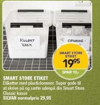 Smart Store Etiket