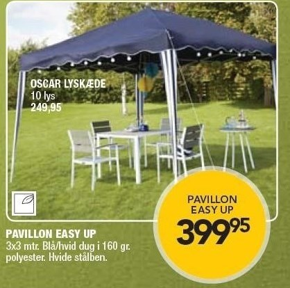 Pavillon Easy Up