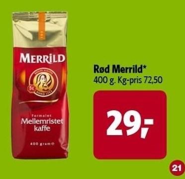 Rød Merrild