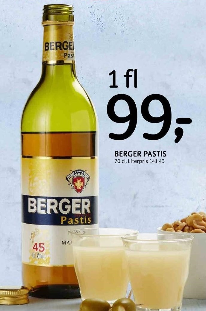 Berger Pastis