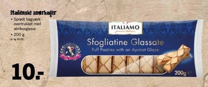 Italienske smørkager