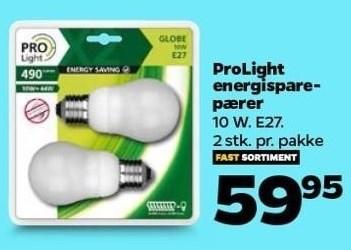 Pro Light energisparepærer