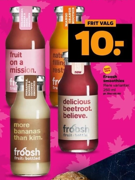Froosh smoothies