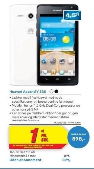 Huawei Ascend Y 530