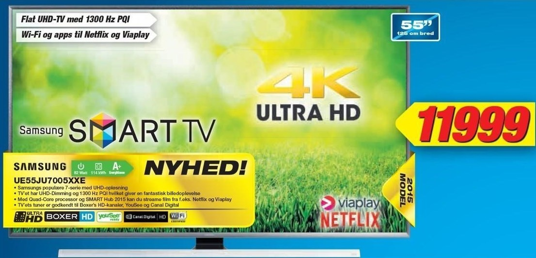 Samsung UHD tv 55