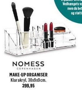 Make-up organiser