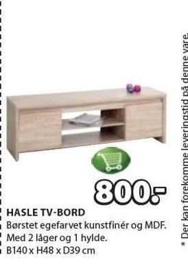 Hasle TV-bord